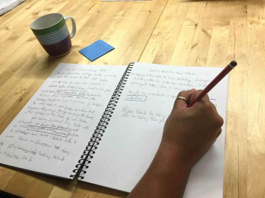 Automatic writing: an exercise to help you be a more efficient writer
