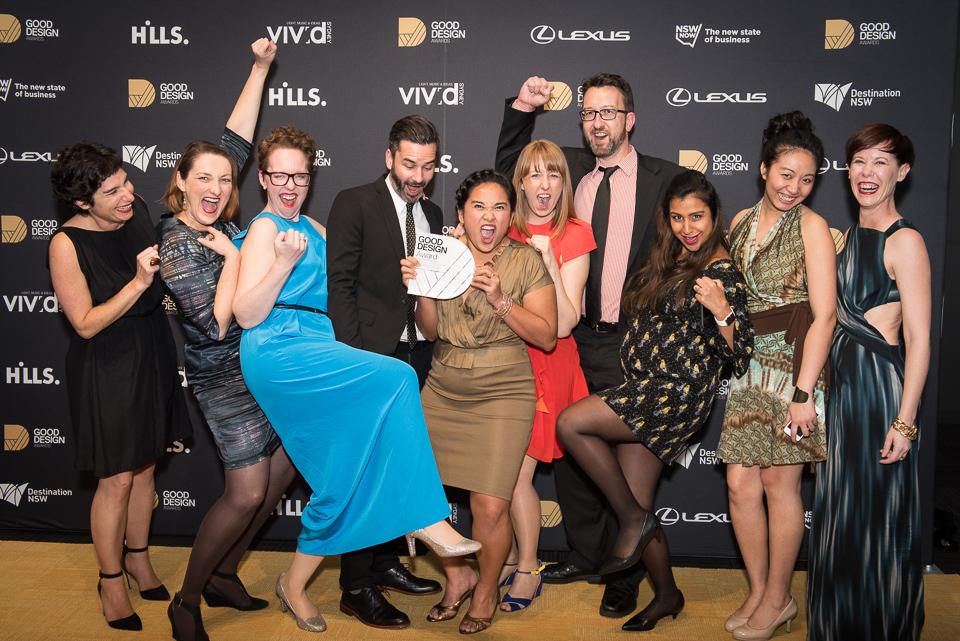 Meld Studios wins Best Overall Service Design in Good Design Awards
