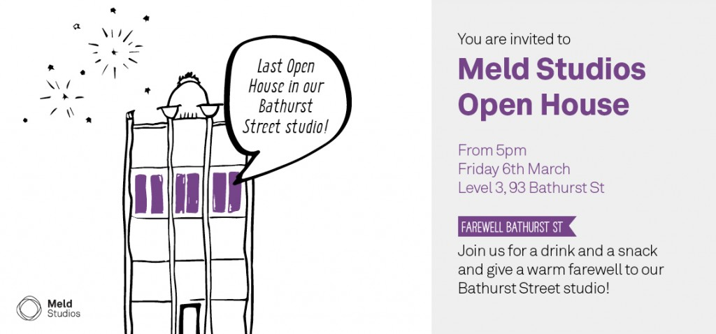 Friday 6th March: Last Open House before we move
